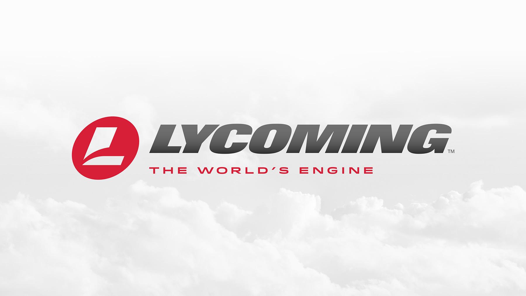 Aviation brand logo and tagline