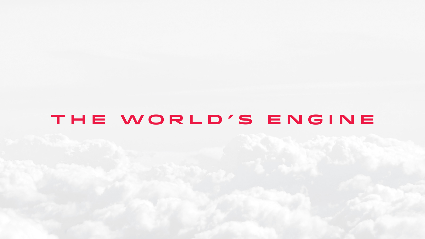 Aircraft engine manufacturer tagline