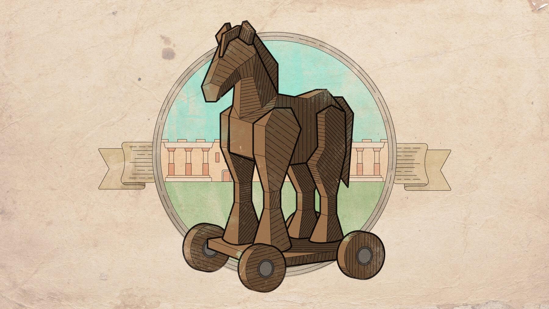 Trojan horse, the power of narrative.