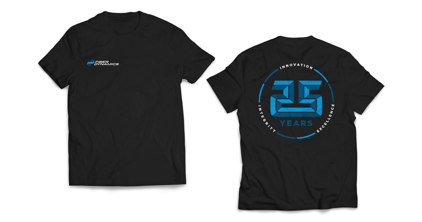 manufacturing brand assets t-shirt' 25th anniversary t-shirt