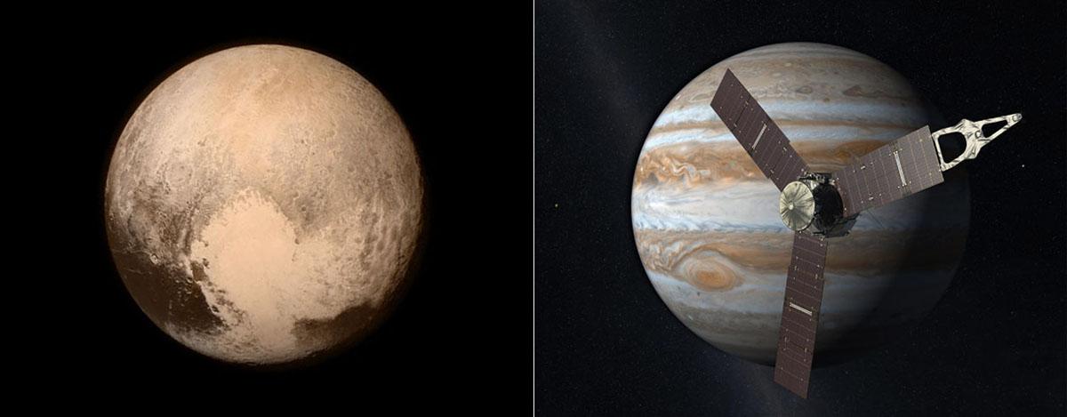 Pluto and Mission Juno